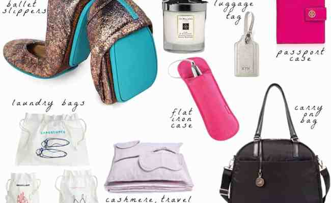 Travel Gifts For Her Part One The Belle Voyage