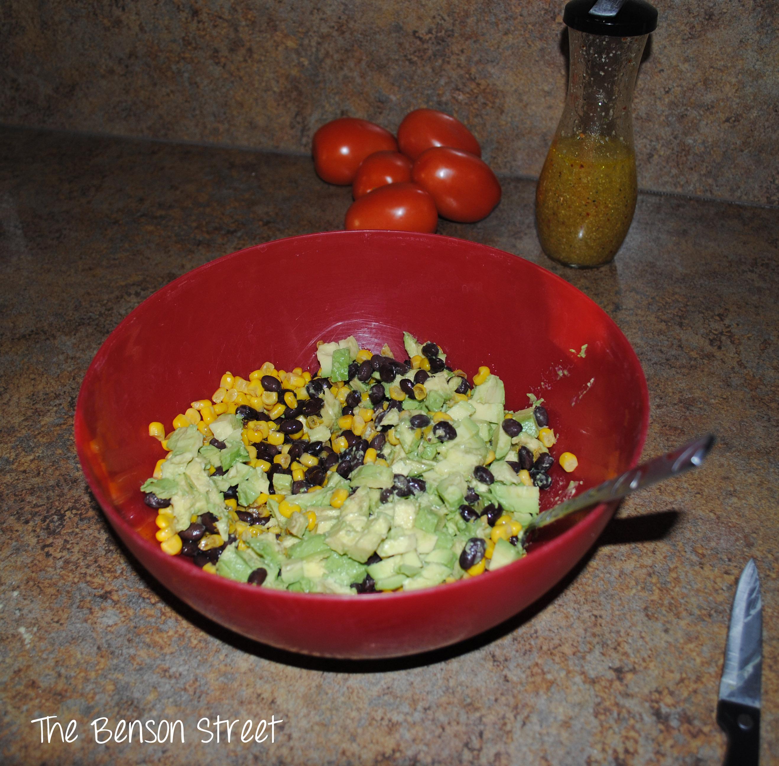 Black Bean & Corn Salsa 8