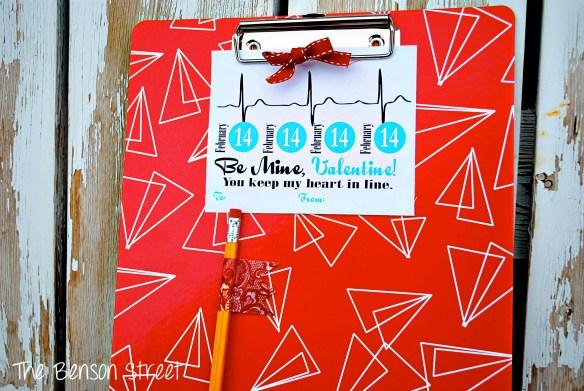 Clipboard Valentine at The Benson Street6