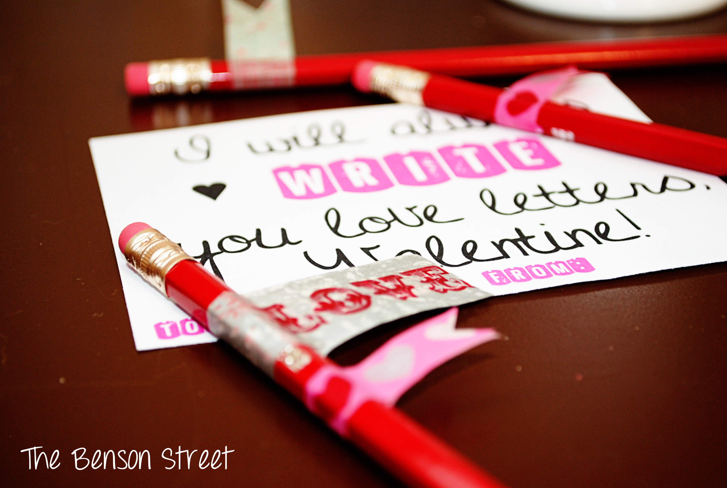 Love Letters Valentine Printable Valentines Day Two