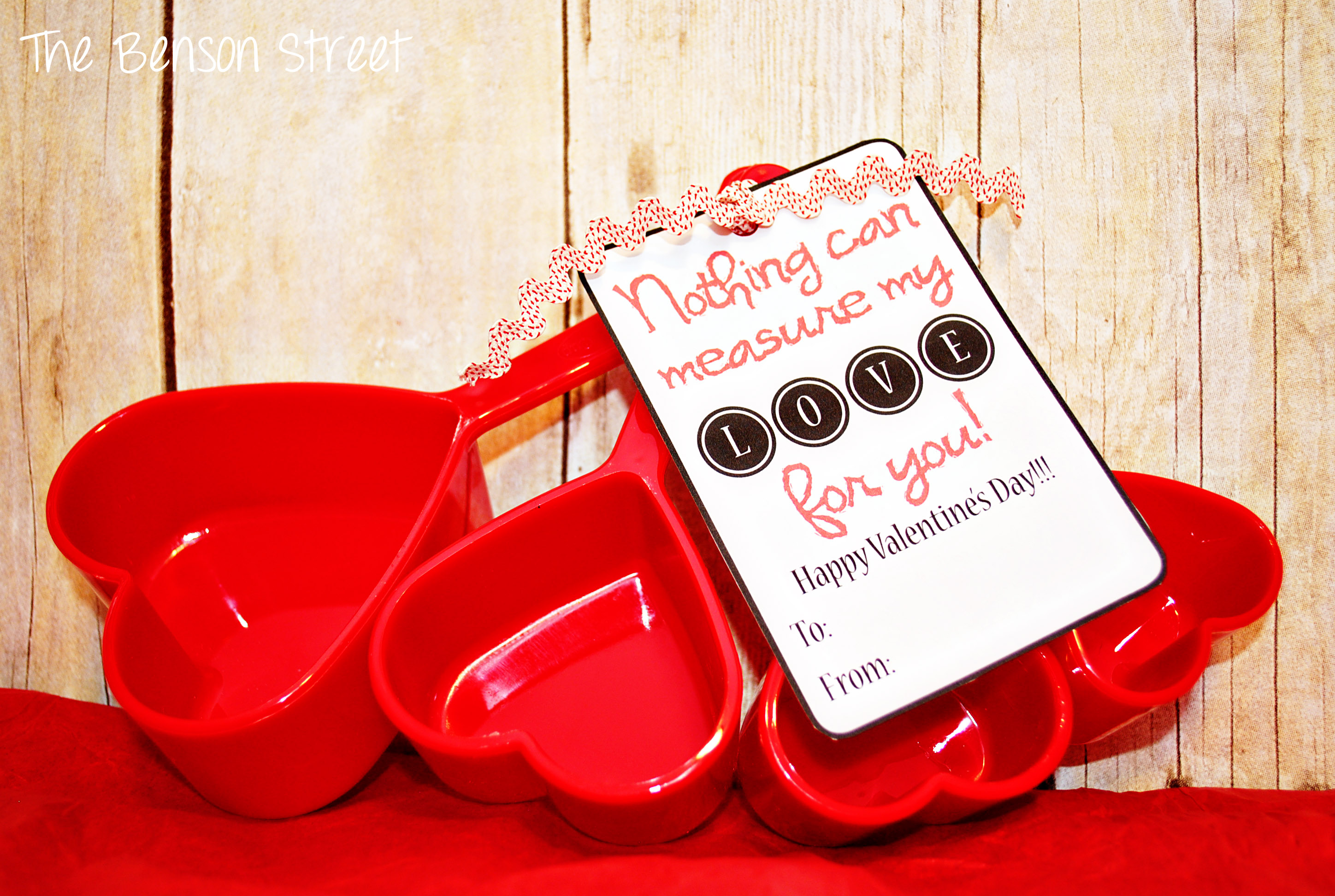 Measuring Cups Valentine at The Benson Street1