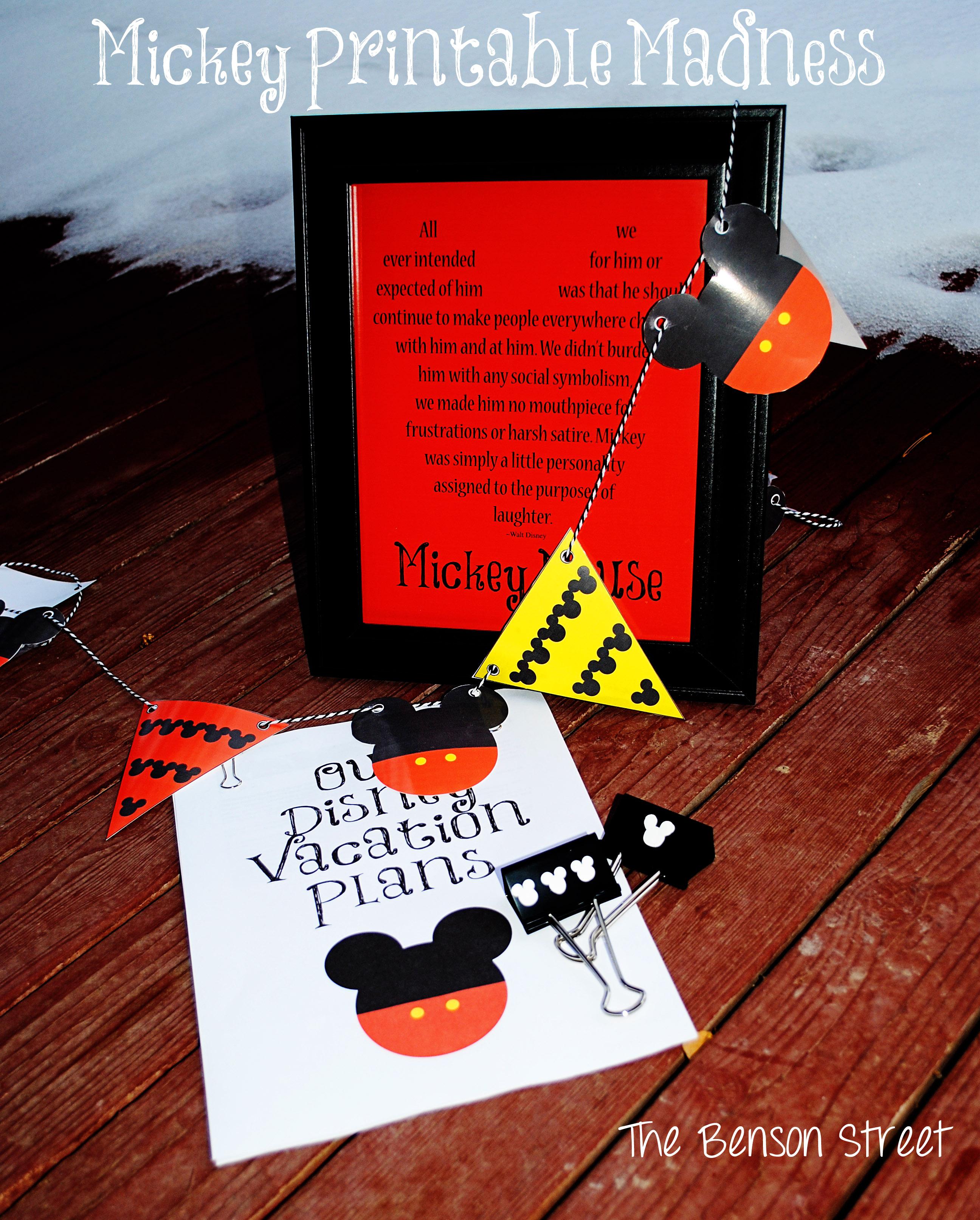 Mickey Printable Madness1