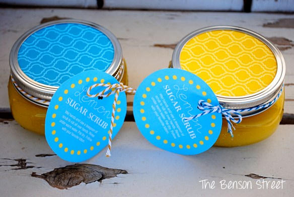 Easy Lemon Sugar Scrub at www.thebensonstreet.com