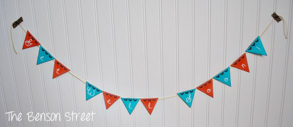 Printable Mini Get Well Banner at The Benson Street4