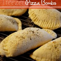 Freezer Pizza Bombs
