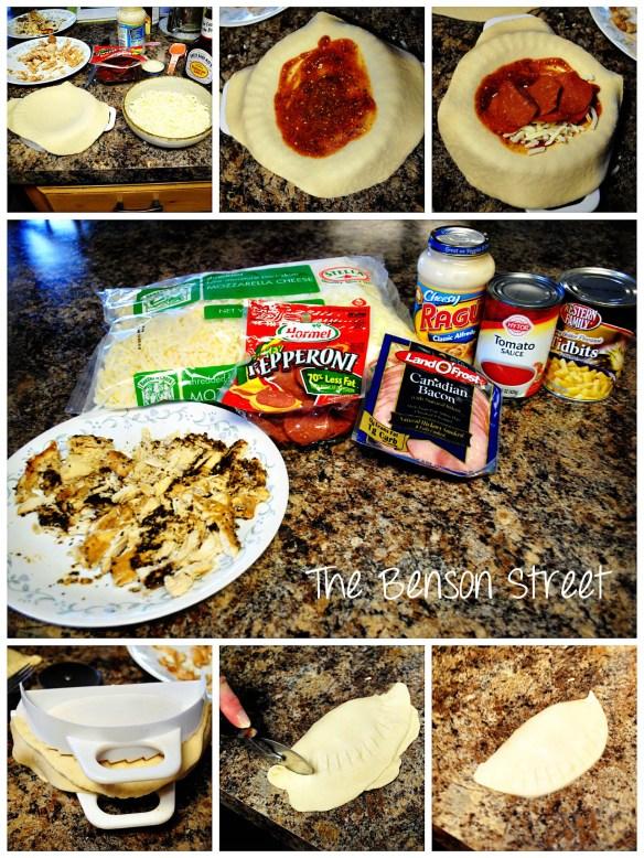 Freezer Pizza Bombs at www.thebensonstreet.com