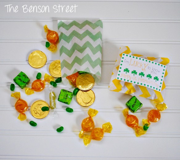 Lucky treat Bag at www.thebensonstreet.com