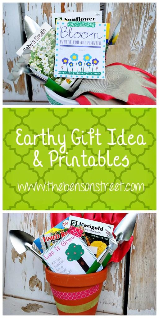 Earthy Gift Idea at www.thebensonstreet.com