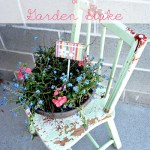 DIY Garden Potting & Stake with Miracle-Gro