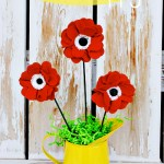 Memorial Day Felt Poppy Tutorial