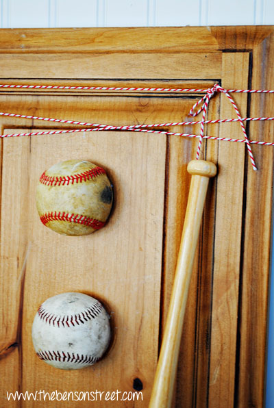 Baseball Home Decor at www.thebensonstreet.com