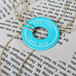 Souvenir Washer Necklaces at www.thebensonstreet.com