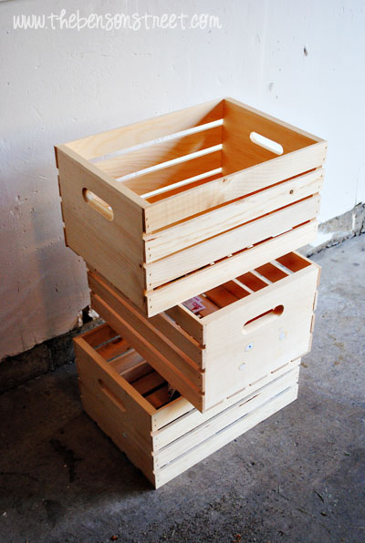 Crate Book Case at www.thebensonstreet.com
