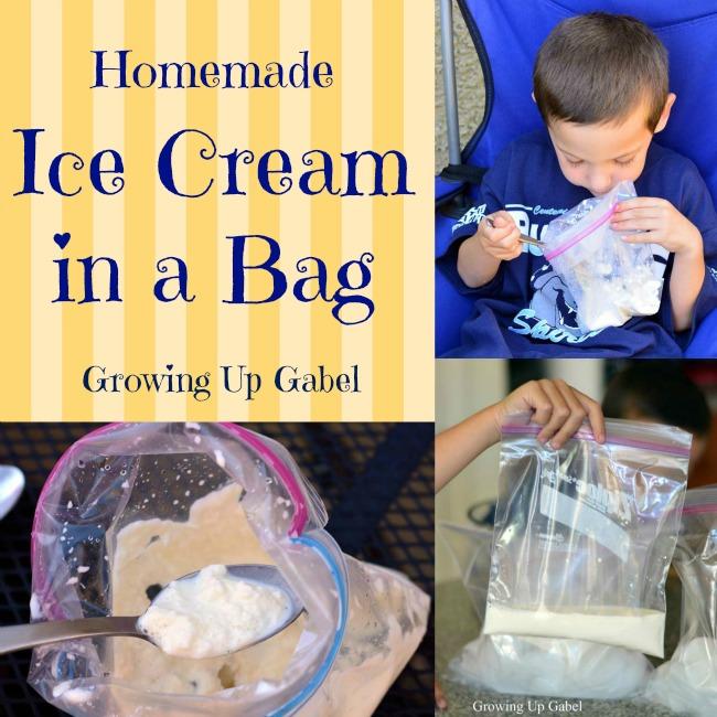 Ice Cream Bag Square