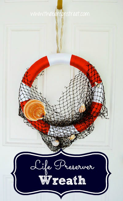 Life Preserver Wreath at www.thebensonstreet.com copy