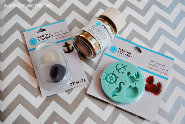 Nautical Clay Earrings Supplies at www.thebensonstreet.com