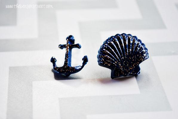 Nautical Earrings at www.thebensonstreet.com