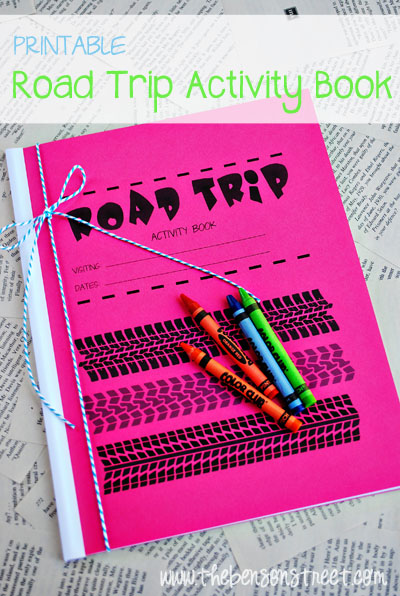 Printable Road Trip Book - The Benson Street