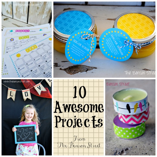 10 Awesome Projects from thebensonstreet.com