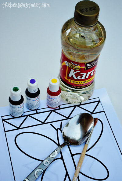 Stained Glass Painting Supplies at www.thebensonstreet.com