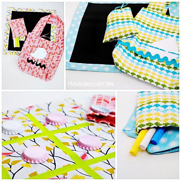 Fun Birthday Party Favor Bags at thebensonstreet.com