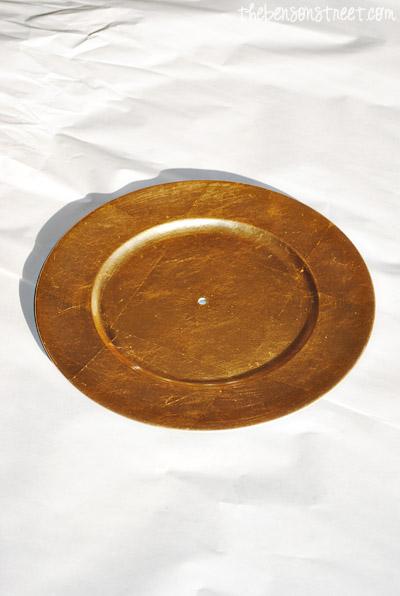 Kitchen Plate Clock at thebensonstreet.com