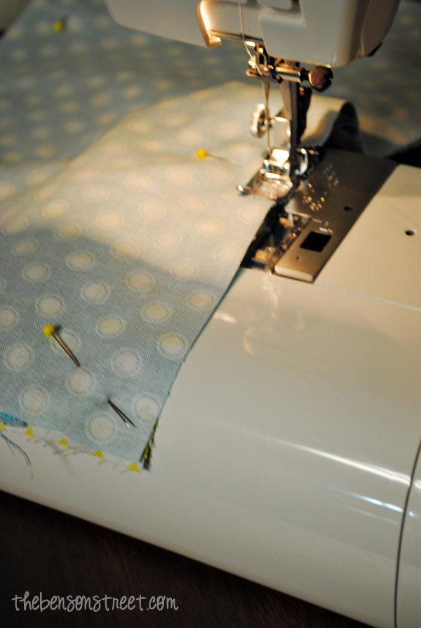 Sewing Birthday Party Favor Bags at thebensonstreet.com