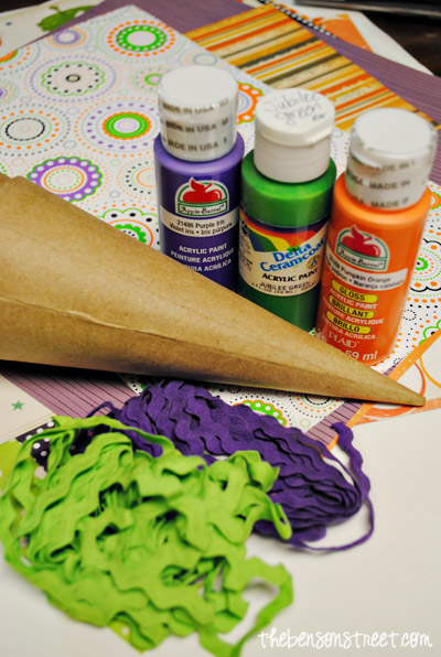 Witch Hat Craft Supplies at thebensonstreet.com