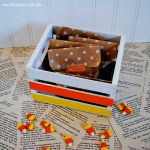 Candy Corn Crate