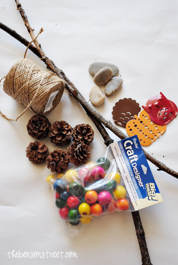 Fall Wind Chime Supplies for Kids at thebensonstreet.com