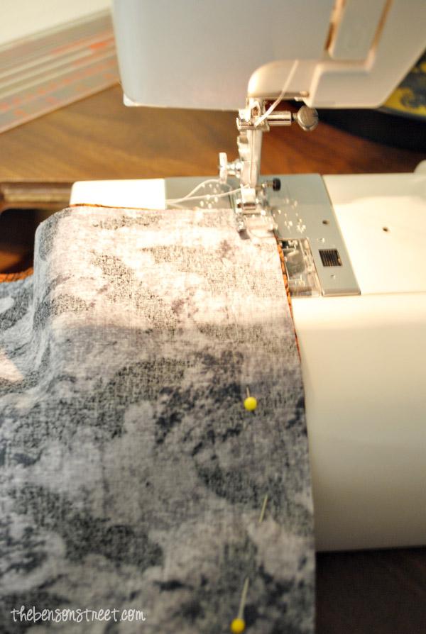 Ruffle Sewed Garland at thebensonstreet.com
