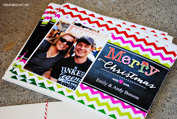 Make your Christmas Cards Easy this year at thebensonstreet.com #walgreensapp #shop #cbias