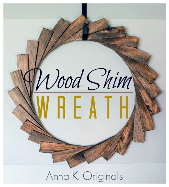 Wood-Shim-Wreath