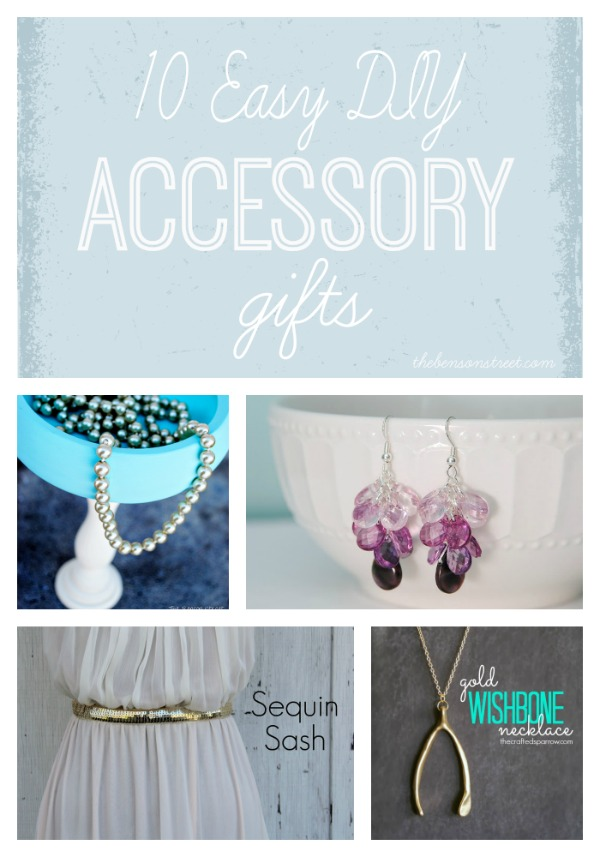 10 Easy DIY Accessory Gifts at thebensonstreet.com