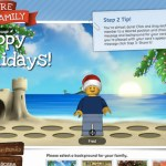 Create a Minifigure Holiday Family with LEGOS