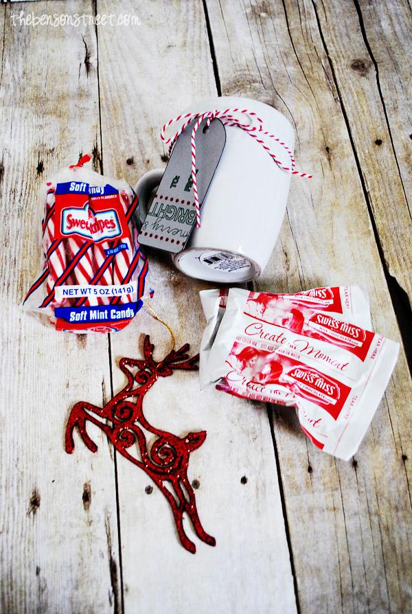 Dollar Store Christmas Gift Supplies