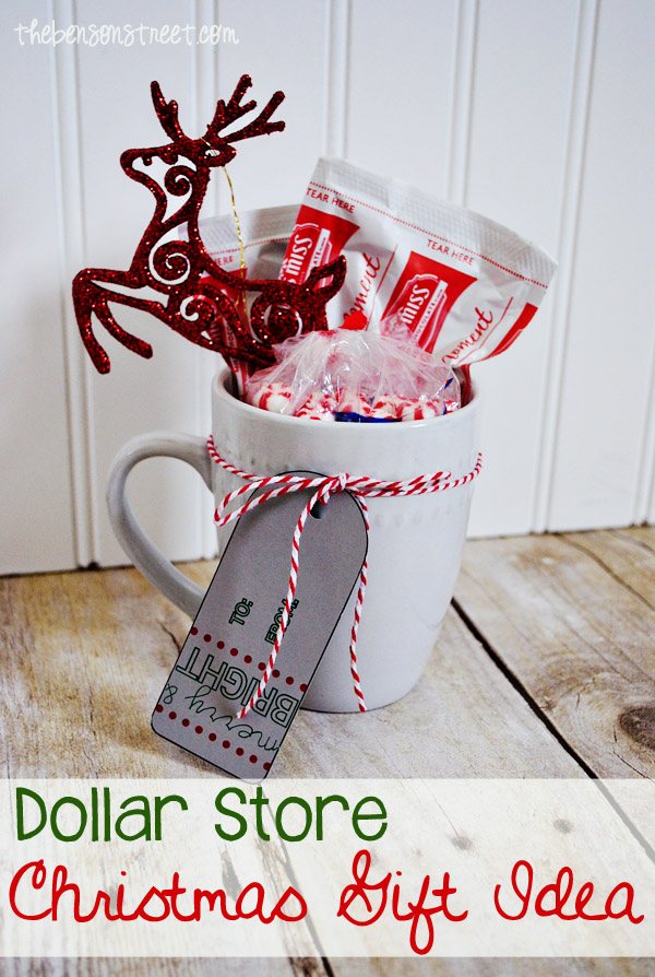 Thrifty Dollar Store Christmas Gift Idea at thebensonstreet.com