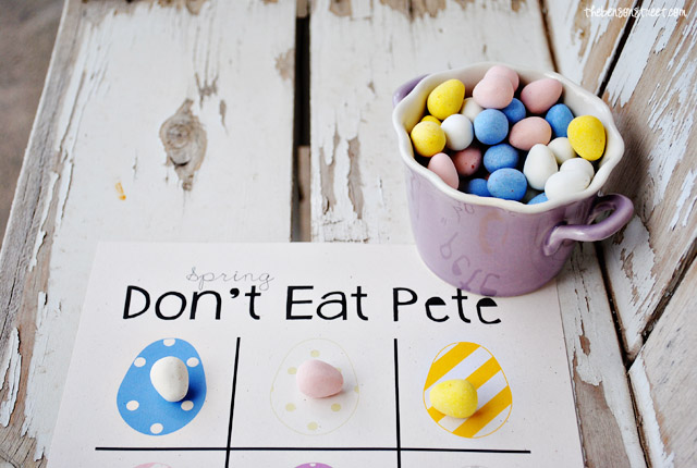 Egg Don't Eat Pete Printable at thebensonstreet.com