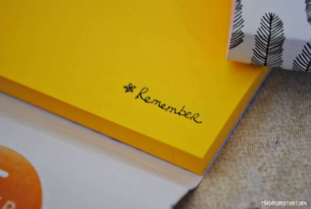 Personalized Notes with Stamps at thebensonstreet.com