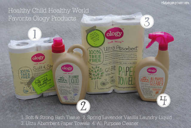 Healthy Child Healthy World Favorite Ology Products at thebensonstreet.com
