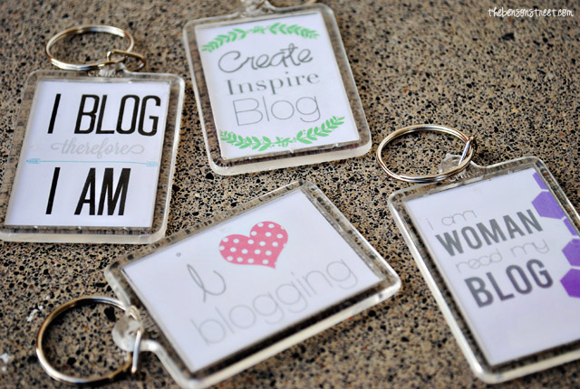 DIY Personalized Keychains The Benson Street