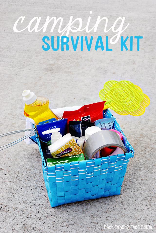Camping Survival Kit at www.thebensonstreet.com