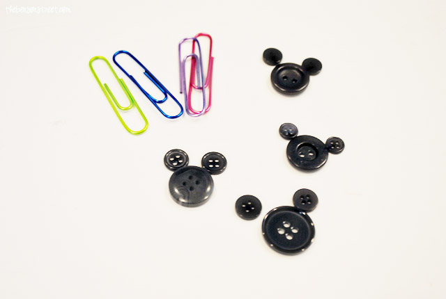 Mickey Mouse Paper Clips Supplies at thebensonstreet.com