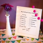 School Day Checklist: Back to School Series