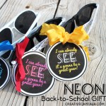Sunglass Teacher Gift: Back to School Series