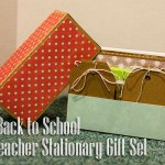 Teacher Stationary Gift: Back to School Series