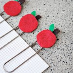 Apple Paper Clips