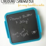Chalkboard Sandwich Box: Back to School Series