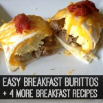Easy Breakfast Recipes: Back to School Series