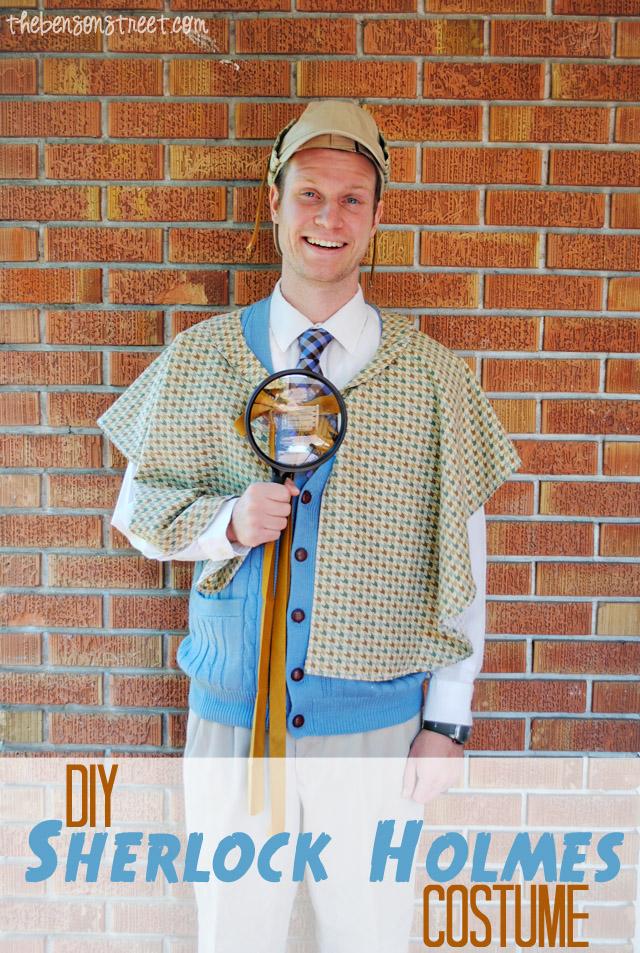 DIY Sherlock Holmes Costume at thebensonstreet.com